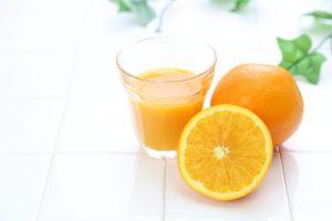 犬 オレンジ オレンジジュース