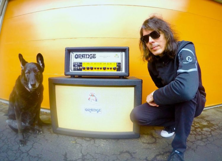 Colin Clive of Mustard Plug / The War Between – Orange Amps