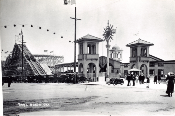 The Joy Zone in Seal Beach in the 1920s.