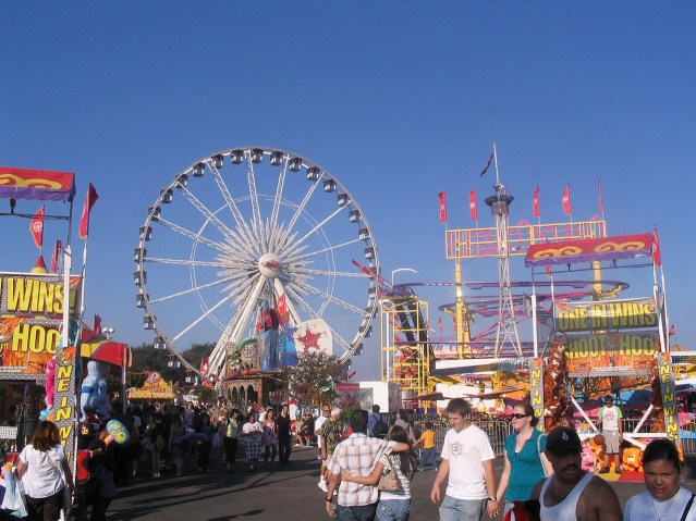 Orange County Fair in Costa Mesa.