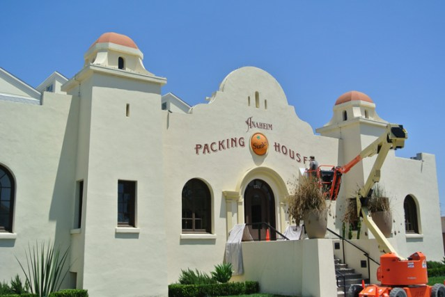 The Packing House in Anaheim, now a trendy food hall.