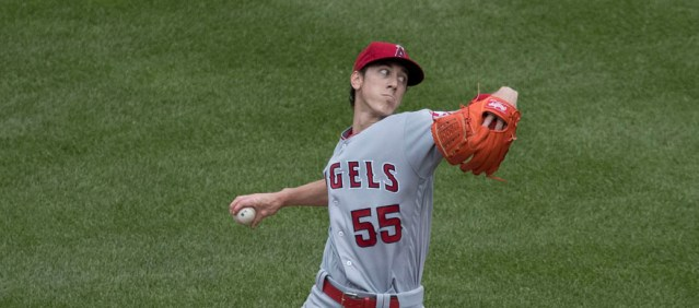 TIM LINCECUM had another tough outing Sunday as the Angels lost 13-3 to the Astros (Flickr/Keith Allison).