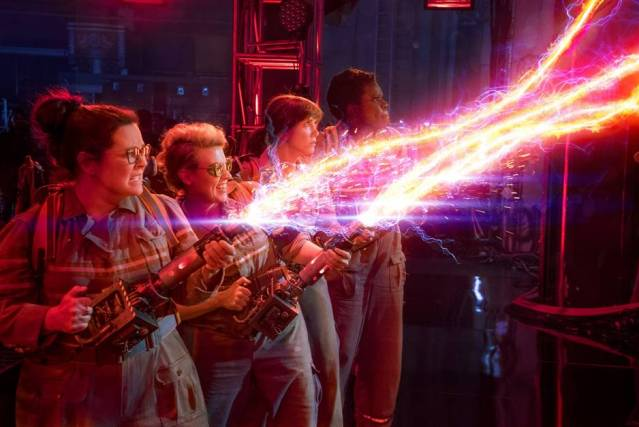 THE GHOSTBUSTERS are back as an all-female team.