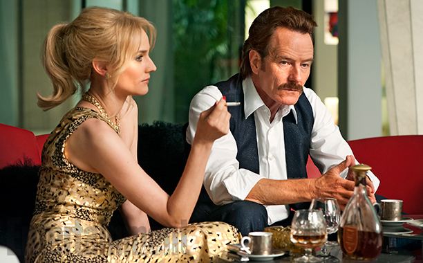 """DIANA KRUGER and Bryan Cranston in """"The Infiltrator."""""""
