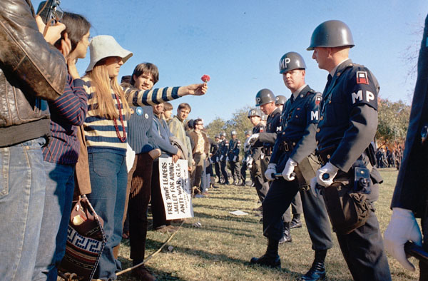 PROTESTS against the Vietnam War were common in 1968 (Wikipedia).