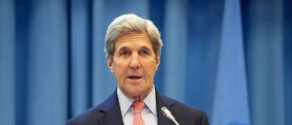 SECRETARY of State John Kerry (State Department photo).