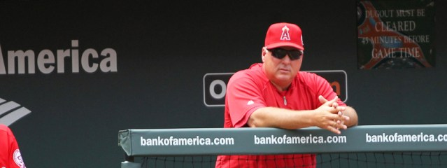 MIKE SCIOSCIA found something to like about the team's sixth straight loss Wednesday (Flickr/Keith Allison).