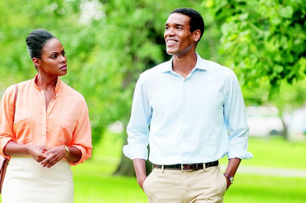 "PARKER SAWYERS and Tika Sumpter star in ""Southside With You."""