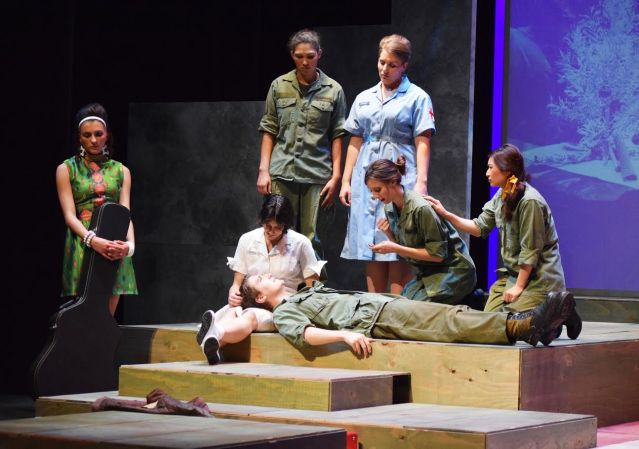 """""""A PIECE OF MY HEART"""" is at the MainStage Theater at Golden West College through Nov. 20 (GWC Theater photo)."""