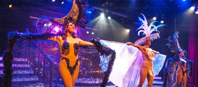"""""""FOLLIES"""" on stage now at the Gem Theatre in Garden Grove recalls the golden age of musical theater (OMP photo)."""