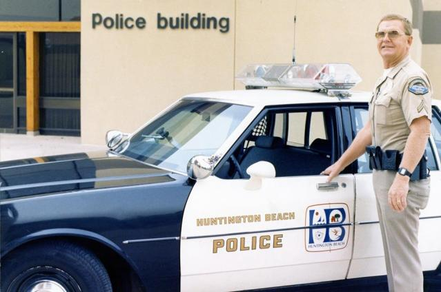 GIL COERCER served 39 years in the Huntington Beach Police Department before serving on the City Council and as mayor (HBPD photo).
