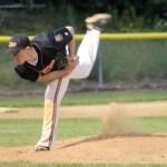 Adam Kyasky on the mound.