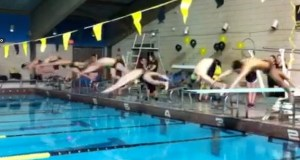 girls relay swim