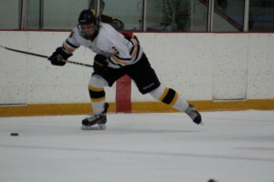 Captain Adam Shea took control of the puck and set it the length of the ice into the empty goal to seal the victory.