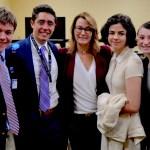 Rep. Klarides Speaks to Junior State of America Members