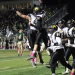 Football: Amity Holds Its Own Against Notre Dame For Three Quarters