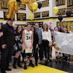 Girls Basketball: Tara Laugeni Makes History, Leads Team to Victory on Senior Night