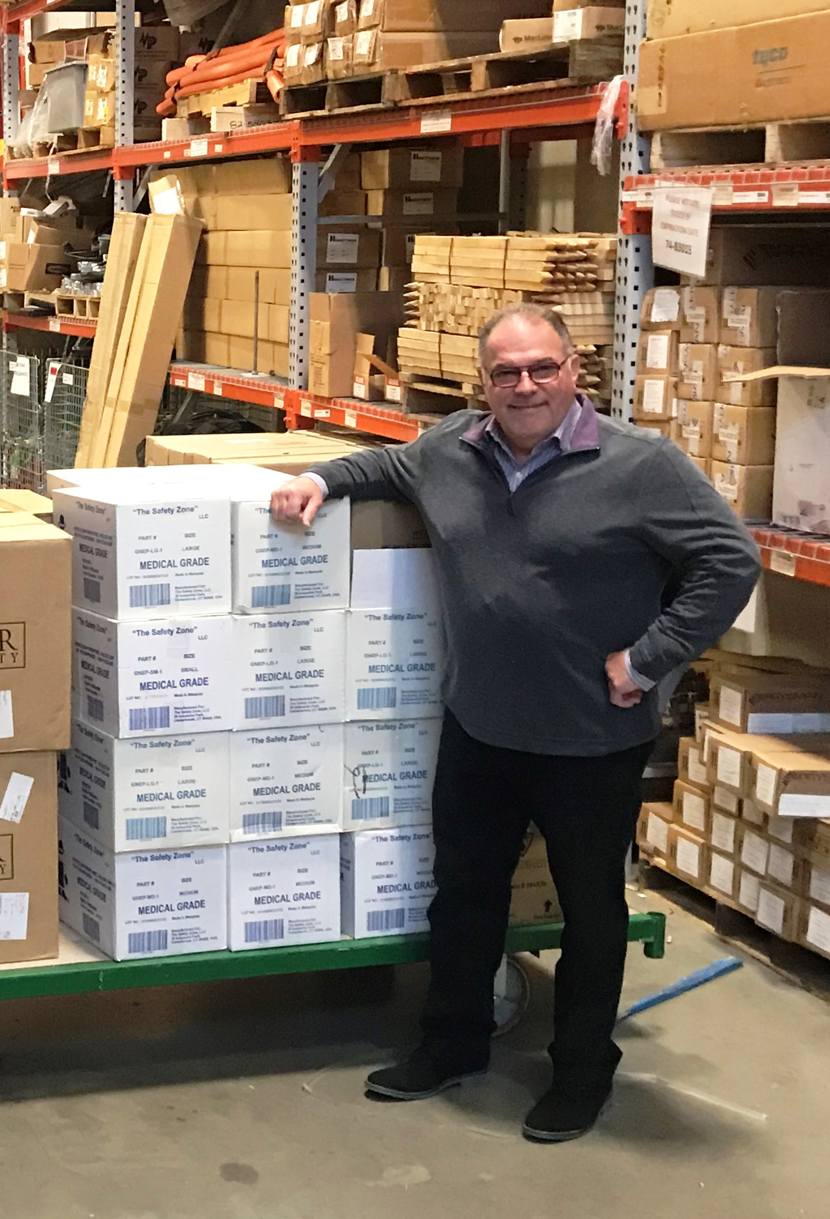 UI, SCG and CNG Donate 6,900 Protective Masks To Yale-New Haven Health As Shortages Loom