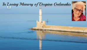Obituary: Despina Galanakis, 93, Beloved Mother, Sister