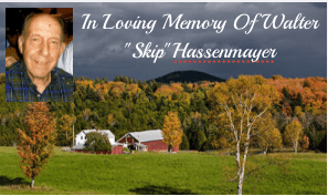 Obituary: Walter E. Hassenmayer, 91, Beloved Father, Grandfather, Friend