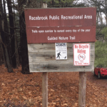A Reminder of Bike Rules For the Racebrook Tract