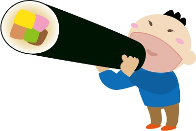 恵方巻 食べ方 ルール