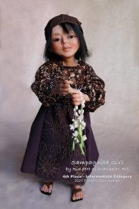 SampaguitaGirl by OrangeJarArt