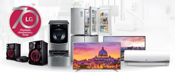 Exclusive Discounts, Exciting Prizes From LG Electronics ...