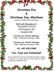 Christmas Eve Alkathon @ The Gather Inn