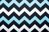 Blue & White Zig-Zag