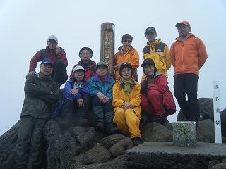 トムラ頂上にて