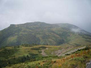 北ノ俣岳方面
