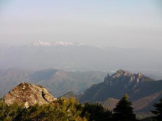 瑞牆と八ヶ岳
