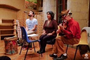 Marita y Facundo avec Luis Corral 2