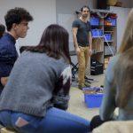 Rythme Signé percussions au lycée Saint-Louis (Saint-Nazaire) avec Gwenael Dedonder de Sysmo 6