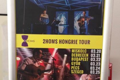 2HOMS en tournée en Hongrie