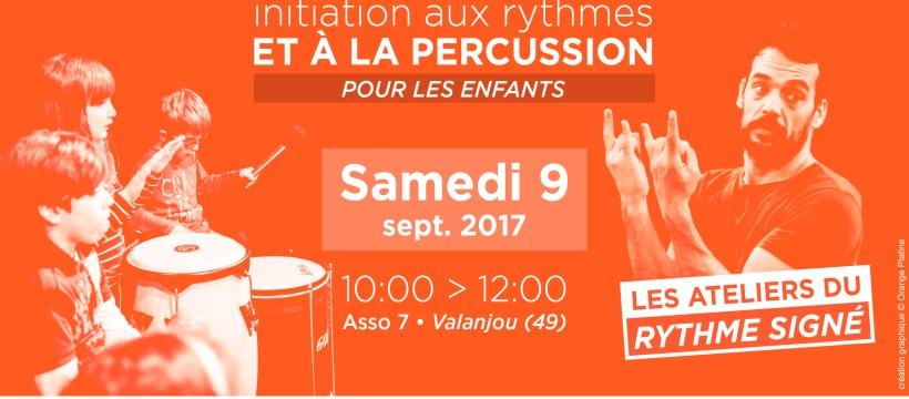 Atelier du Rythme Signé Enfants- 9 septembre 2017 - Asso 7