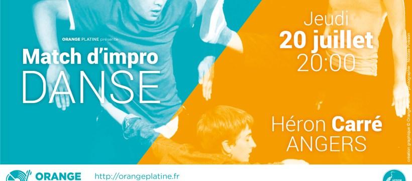 Match d'impro Danse - 20 juillet 2017 - Le Héron Carré