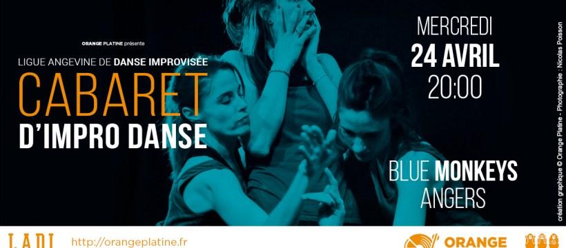 Cabaret d'Impro Danse - LADI @Blue Monkeys