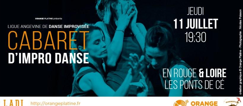 Cabaret d'Impro Danse - LADI @En Rouge et Loire