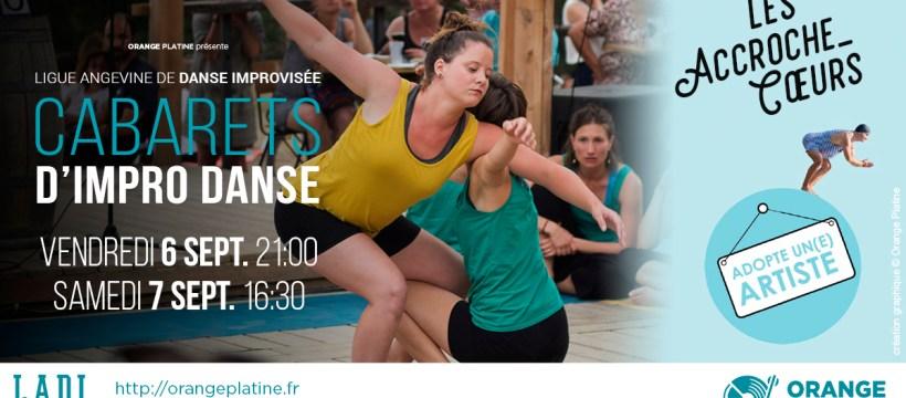 Cabaret d'impro danse - LADI @Les Accroche-Coeurs