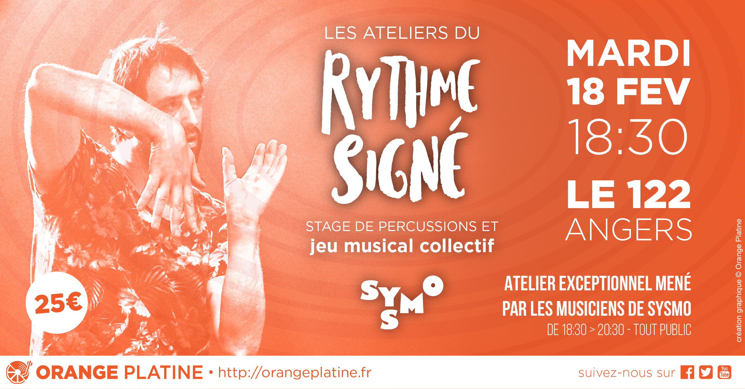 Atelier Percussions Rythem Signé Sysmo - 18022020