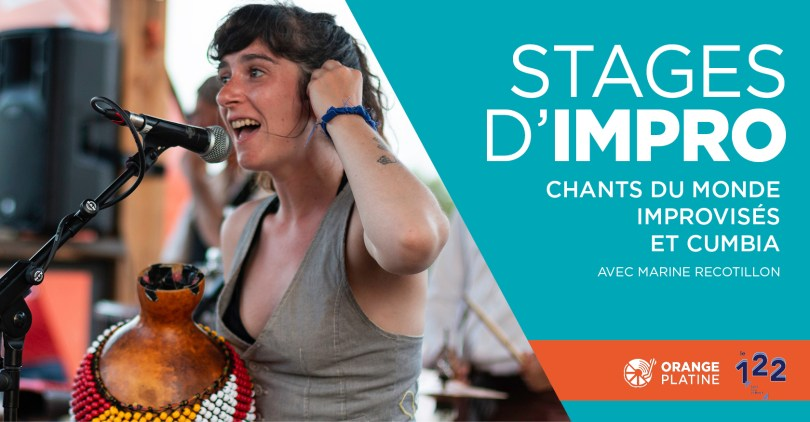 Stage impro chant - Marine Recotillon