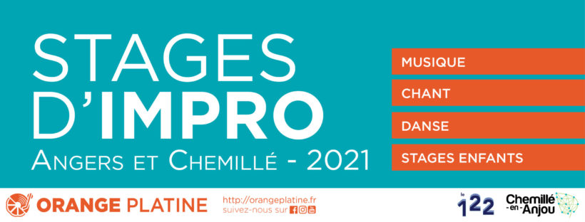 Stages d'impro 2020-2021 Orange Platine