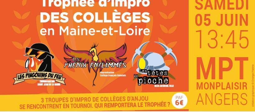 Trophée d'impro des Collèges 49 20-21
