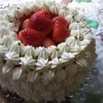 いちごのクルミケーキ C