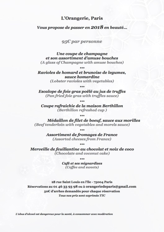 orangerie menu nouvel an 2018 copie