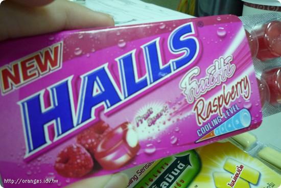 Halls 喉糖