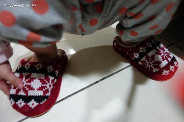 小小橘室內拖鞋