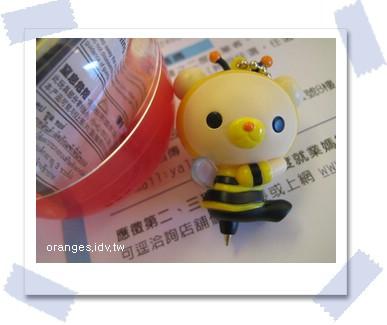 蜜蜂原子筆